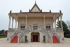 Cambodian Buddist temple