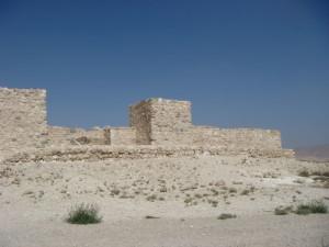 The walls of Arad ©Bible Places.com