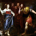 Rahab and the Emissaries of Joshua (Public Domain)