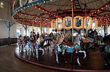 """Santa Monica Carousel.2"" by Bruceb Boehner"
