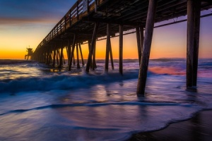 Imperial Beach pair at sunset by Job Bilous
