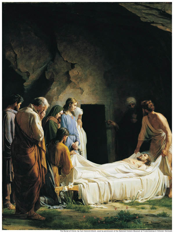 The Burial of Christ Carl H. Bloch (1834-1890)